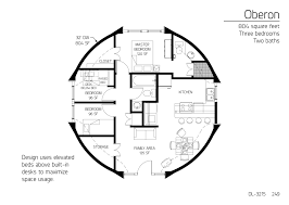 floor plan dl 3215 monolithic dome institute
