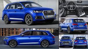 Audi Q7 Colors - audi sq7 tdi 2017 pictures information u0026 specs