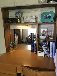 Diy Desk Hutch Diy College Desk Hutch Desk Topper Furniture Pinterest Desk