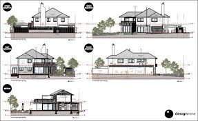 house elevation plans architectural house elevations homes floor plans