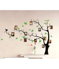 family tree wall sticker gardens and landscapings decoration syga printed pvc vinyl black wall stickers buy syga printed pvc syga printed pvc vinyl black wall stickers
