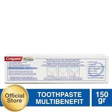 Pasta Gigi Colgate colgate total professional clean paste toothpastepasta gigi 150g