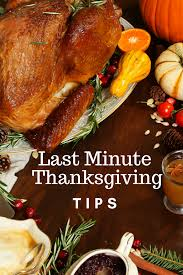 last minute thanksgiving day tips wine in