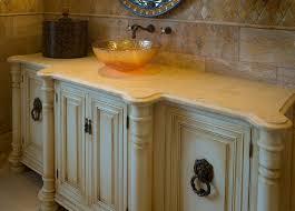innovative custom bathroom cabinets handmade custom faux finish
