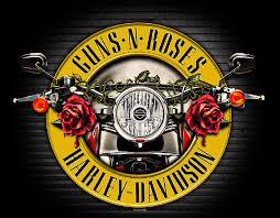 harley davidson partners with guns n roses motorbike writer