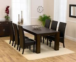 dark wood dining room tables black wood dining table and chairs new ideas seats dark wood