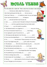 156 free esl modal verbs worksheets