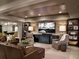 living room contemporary living room theater leather brown sofa