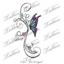 com tattoos pinterest kid names custom tattoo and