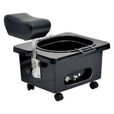 pibbs pedi n go portable pedicure bowl with footrest pedicure