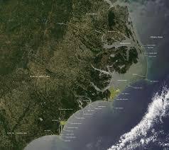 Virginia Coast Map by Image And Map Of The North Carolina Coast