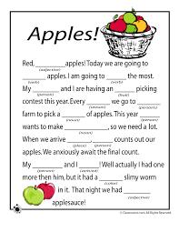 fall mad libs apples woo jr activities