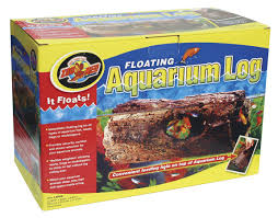 floating aquarium log zoo med laboratories inc