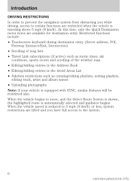 lincoln navigator 2009 navigation manual
