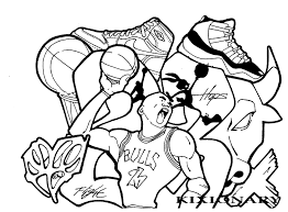 michael jordan coloring pages cecilymae