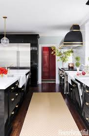 best finish for kitchen cabinets lacquer tour a sleek black kitchen where and new meet in the