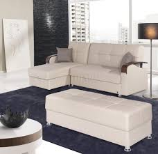 Soho Sectional Sofa Soho Sectional Sofa In Beige Bonded Leather By W Options