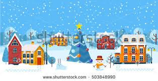 merry christmas happy new year illustration stock vector 729382489