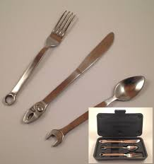 Kitchen Forks And Knives Gift Tableware To Your Friend Knives Forks And Spoons U2013 Wrenchware