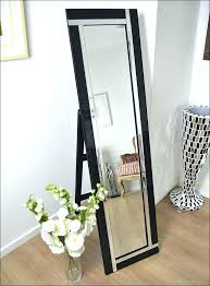 stand alone mirror with lights mirror on stand mirror stand full size of full length mirror with