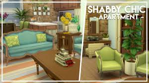 Shabby Chic Apartments by Shabby Chic Apartment The Sims 4 Speed Build Youtube