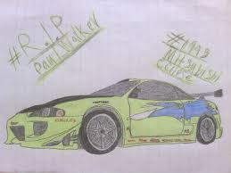 nissan skyline drawing 2 fast 2 furious pw tribute drawing 1 1995 mitsubishi eclipse by shiftyguy1994 on