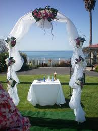 how to decorate wedding arch strapless wedding gown decorating wedding arches
