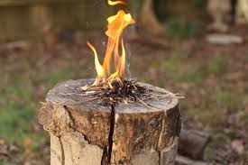 How To Make A Campfire In Your Backyard How To Make A Swedish Flame Man Made Diy Crafts For Men
