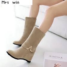 s boots calf aliexpress com buy 2017 winter boots autumn high