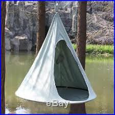 hanging hammock chair hang out cocoon tent panda pod swing kids