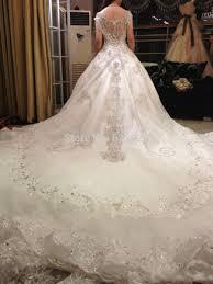 Wedding Dress With Train Mini Bridal Gowns With Trains Wedding Dresses In Jax