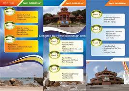 contoh desain proposal keren contoh brosur iklan travel agen wisata contoh desain iklan pinterest