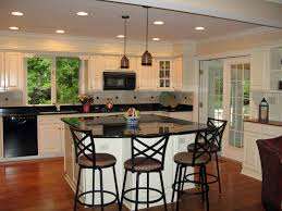 ceiling lights cool kitchen light cabinets dark countertop