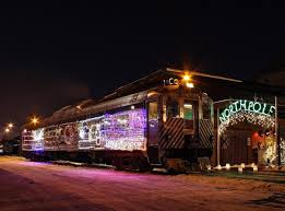 the christmas express is minnesota u0027s polar express train ride