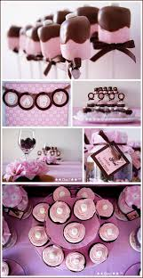 pink and brown baby shower real party brown pink baby shower