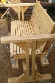 Wooden Garden Swing Bench Plans by Diy Garden Swing Outdoor Furniture Plans And Projects