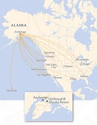 Atlanta Airport Map Delta by Getting Here By Air Location U0026 Directions Alyeska Resort