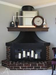 How To Decorate A Living Room With A Red Brick Fireplace How To Update A Brick Fireplace Ask Anna
