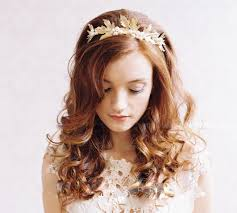hair accessories for weddings bridal gold hair accessory fashion trend