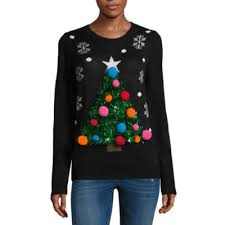 tree sweater juniors jcpenney