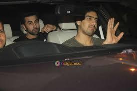 Kapoor Karan Johar And Aayan Mukherjee Spotted At Aamir Khan Residence