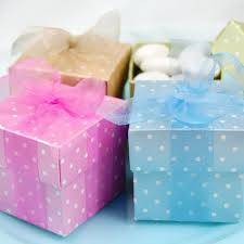 polka dot boxes polka dot favor boxes polka dot baby shower favor boxes
