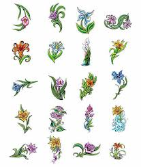 lilly flower tattoo designs from tattoo art com lillian gray