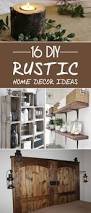 16 diy rustic home decor ideas to make your living space more