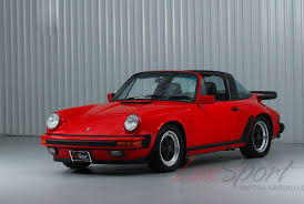 1990 porsche 911 red 1987 porsche 911 3 2 carrera targa guards red black 5 speed 69 000