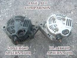 how to convert 4age blacktop to silvertop alternator youtube