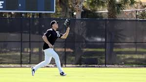 Aaron Judge Joins An Exclusive Club Of Yankees All Stars Pinstripe - aaron judge practices in center field sny