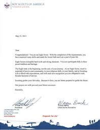 recommendation letter for boy scout eagle sample letter of