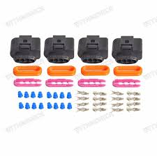ignition coil wiring harness connector repair kit for audi a4 a6