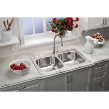 Kitchen Sink 33x22 by Dayton Dse23322 33 X 22 X 8 1 16 20 Gauge Double Bowl Top Mount